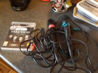 2 microphones for ps3 singster