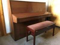 Knight Piano, K10, very good condition, with duet stool