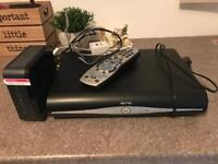 Sky HD Box and Wireless Router