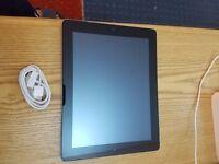 apple ipad 3 64gb wifi only BLACK brand new screen