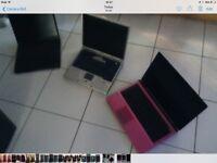 Three laptops