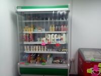 Shop chiller and fag counter for sale