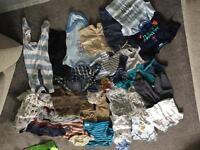 Bundle of 3-6 month boys clothes