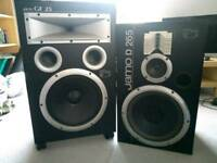 Speakers - Jamo D 265 and Jamo GF 25 Pair