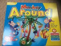 Monkey Around Game Age 4+ 2-4 players