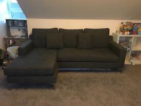 3 seat sofa with chez lounge