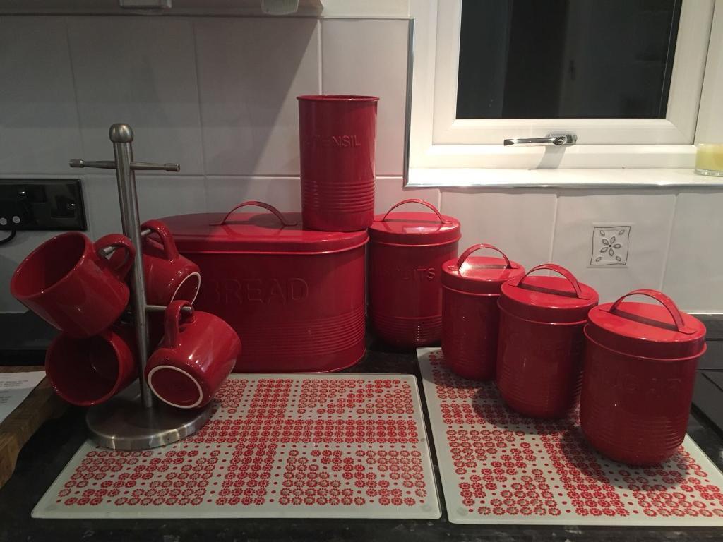 Red Kitchen Items Bundle