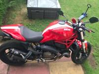 Ducati monster 821 stripe £7000 ono