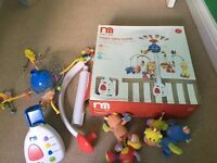 Mothercare Happy Safari Mobile. exc cond, lights and music. detachable animals. boxed.