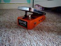 vintage Colorsound wah pedal 70's