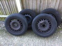 4xtyres on rims 215x55 R16