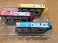 Genuine HP 364 Triple Colour Ink Cartridges