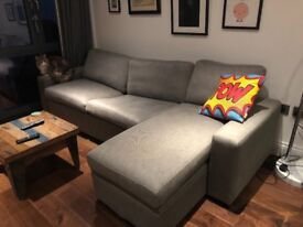 L Shaped Sofa Bed Multi York 400