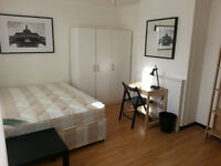 Lovely Double Room Available Now with private garden - close to Bow & Mile End Stations