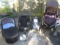 strollers Mamas & Papas Sola 3 in1 travel system