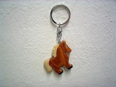 """Schlüsselanhänger """"Pferd"""" (Holz) / Keychain """"Horse"""" (Wood)"""