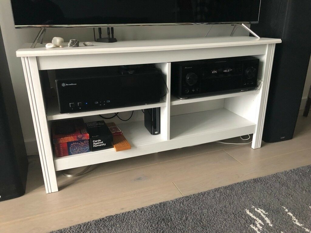 Magnificent Ikea Brusali Tv Bench In White No Back Panel In Clapham London Gumtree Gmtry Best Dining Table And Chair Ideas Images Gmtryco