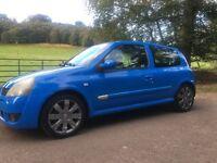 2005 Renault Clio Sport 182, 88000 miles.