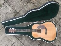 Martin HD-35 Acoustic Guitar with LR Baggs Anthem Pickup and hard case