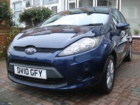 FORD FIESTA 2010 Egde AUTOMATIC Sunning Car 37100 miles £3375