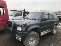Toyota hilux surf jeep spare parts available