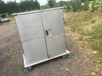 Orion Insulated Hot / Cold Food Catering Trolley Serving Mobile Catering Cabinet
