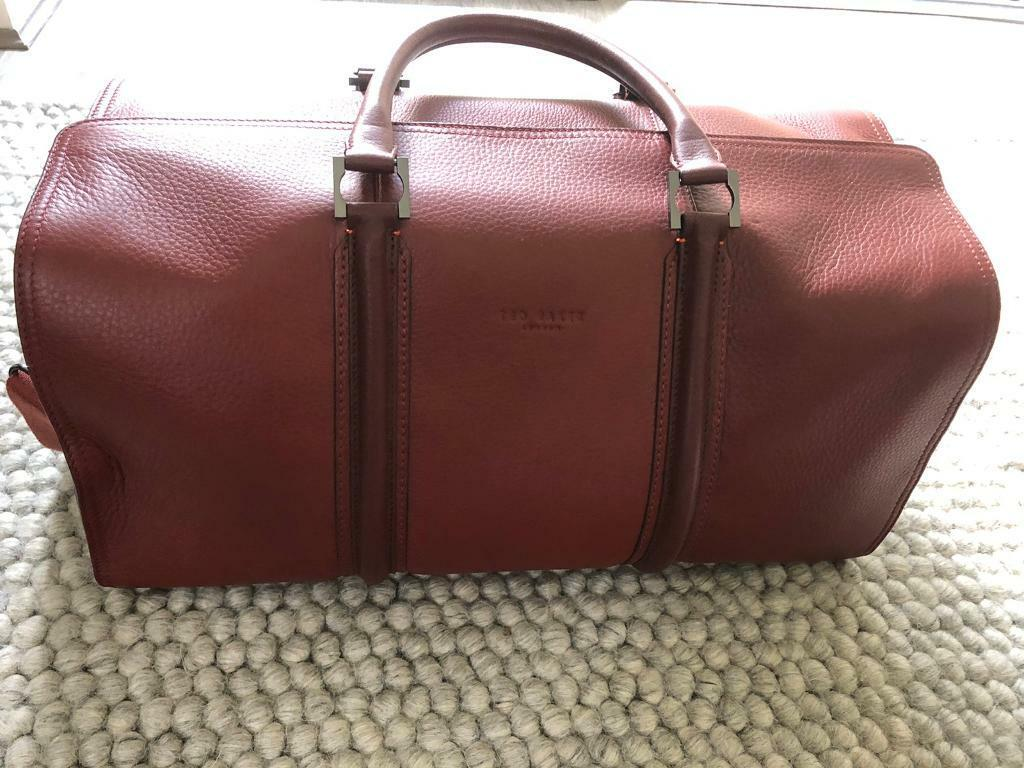 Ted Baker Leather Weekend Bag In Sheffield South Yorkshire Gumtree