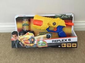 Brand New X Shot Reflex 6 Toy Gun