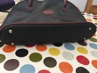 Mulberry black and brown handbag