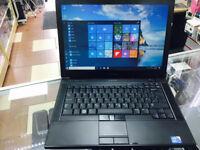 FAST INTEL CORE i5 DELL LATITUDE E6410 LAPTOP, 14.1 SCREEN. WIFI, 160GB HDD