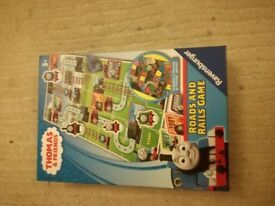 roads and rails board game Thomas and friends