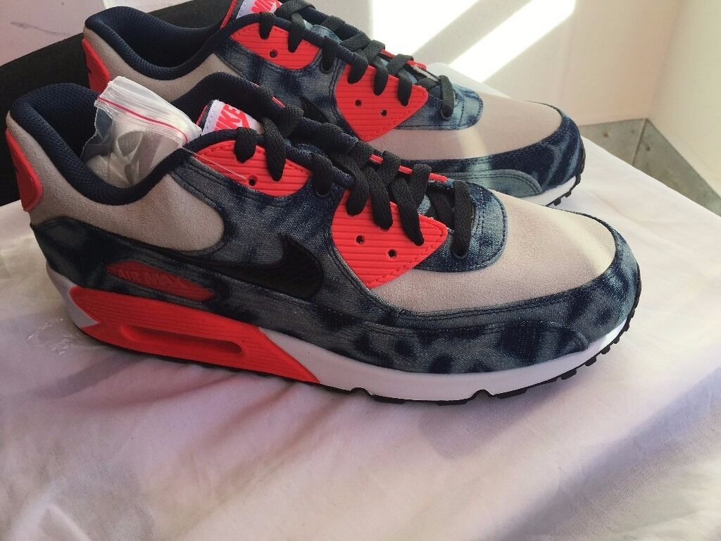 NIKE AIR MAX 90 DENIM UK9 US10 EU44