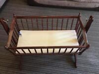 Baby sleeping swing crib