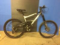 SARACEN VICE MOUNTAIN BIKE FULL SUSPENSION HYDRAULIC DISC BRAKES BOMBER SHOCKS