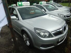 VAUXHALL VECTRA 1.9 CDTI 150 BHP UP TO 15 MONTHS WARRANTY
