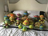 Huge Ninja Turtle plush bundle