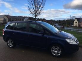 Vauxhall Zafira 1.6 i 16v Exclusiv 5dr 2009 Petrol 7 Seater Spacious Family Car
