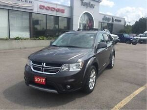 2017 Dodge Journey GT AWD w/Leather, Navi, Sunroof, DVD, Backup