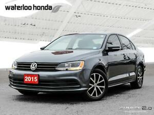 2015 Volkswagen Jetta 1.8 TSI Comfortline Bluetooth, Back Up...