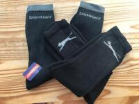 Four pairs of mens sports socks