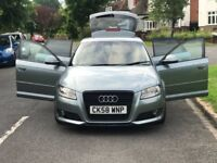 AUDI A3 1.9L DIESEL MANUAL 5DOOR HATCHBACK+HPI CLEAN+1 YR MOT+3 MONTHS WARRANTY+FULL SERVICE HISTORY
