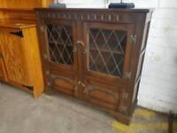 Large wooden vintage cabinet