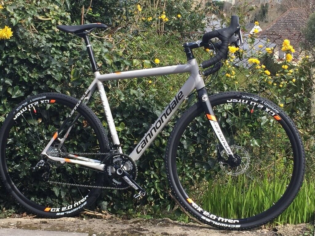 b0be280381a Cannondale CAADX Rival 22 Disc 2015 Cyclocross Bike - Rarely Ridden - Large  Frame