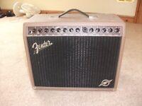 Fender 100W Amp..Separate Instrument & Mic. channels, effects controls, tilt-back legs,portable.