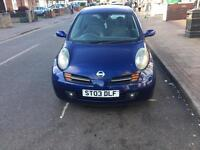 2003 Nisan Micra 11 months mot and very very good condition