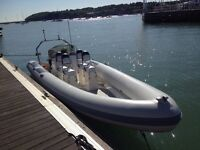 Rib 7.6 Metres (25ft) 150 mariner,excellent condition