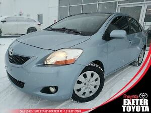 2010 Toyota Yaris with Snow Tires