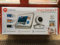 New Motorola Smart Nursery 7 Baby Monitor - £349.99 @ John Lewis and Amazon