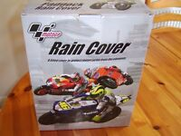 Motorcycle rain cover.