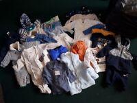 baby boy 0-3 clothes bundle